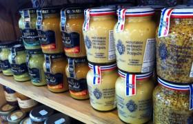 Uma prévia das mostardas à venda na Casa